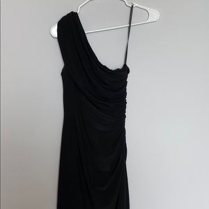 Ralph Lauren one shoulder midi dress